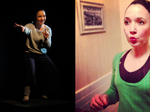 As Bird in 2006 at StageWorks/Hudson and then warming up last weekend in Provincetown.