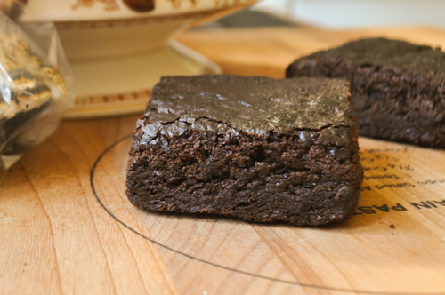 Divine Gluten-Free Brownies - TheDustyBaker