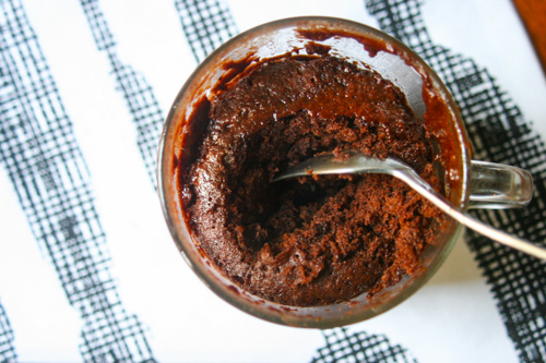 Gluten-Free Millet Mug Chocolate Cake - The Dusty Baker-1