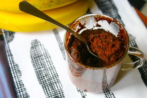 Gluten-Free Millet Mug Chocolate Cake - The Dusty Baker-2