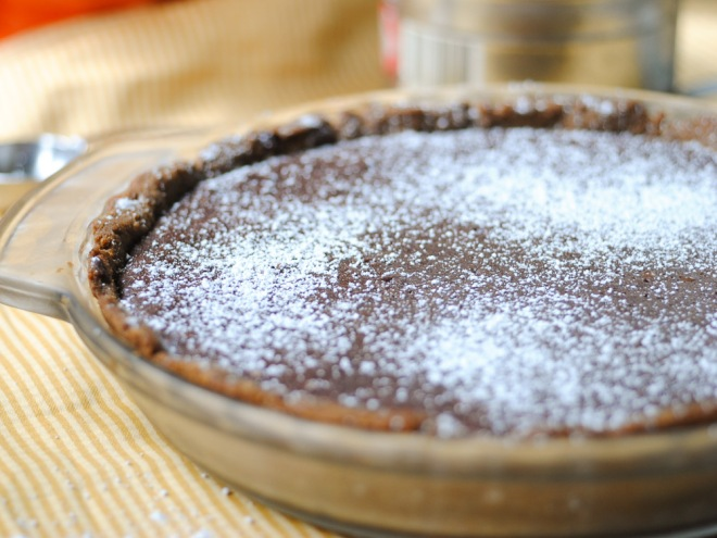 Gluten-Dairy-Free Brownie Pie - The Dusty Baker-2