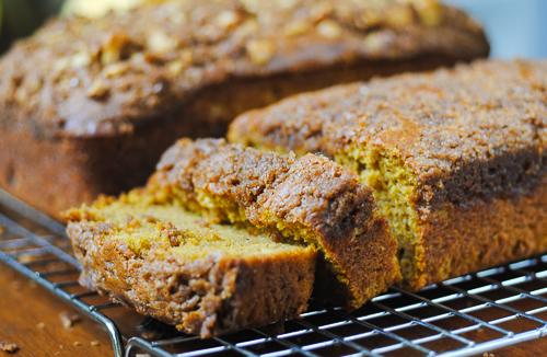 Gluten-free Pumpkin Bread