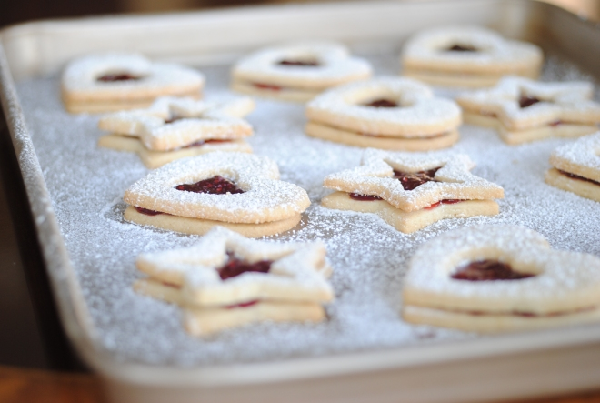 Gluten-Free Raspberry Linzer Cookies - The Dusty Baker (3)