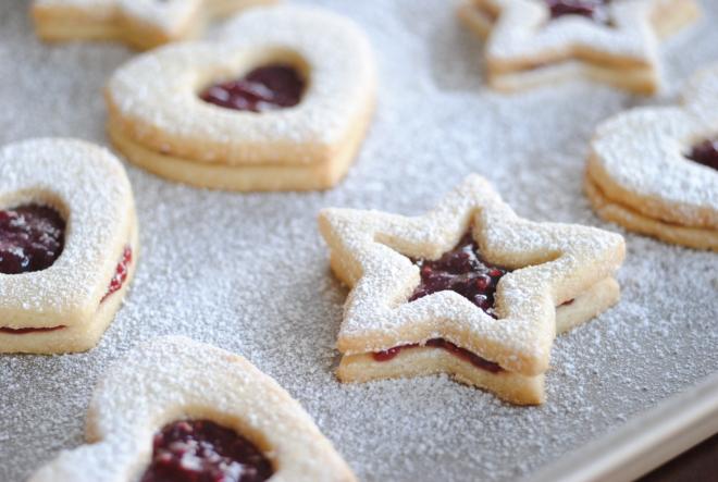 Gluten-Free Raspberry Linzer Cookies - The Dusty Baker (4)
