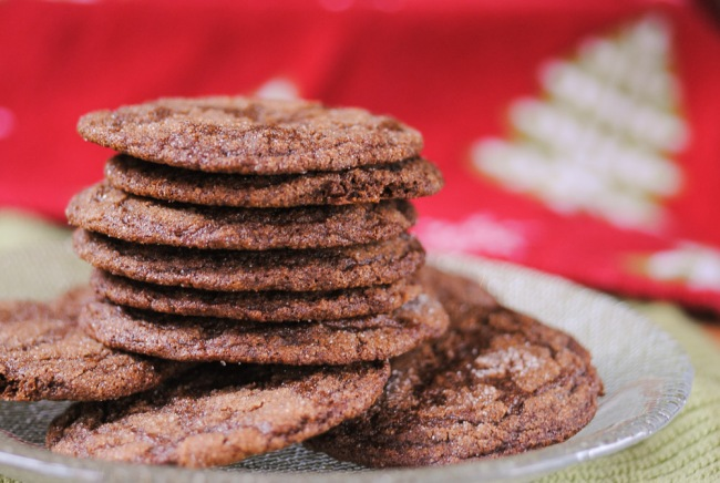Chewy molasses cookies - lots of flavor, no gluten!