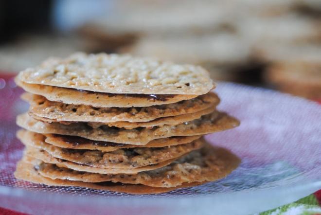 Gluten-Free Lace Cookies - The Dusty Baker-4