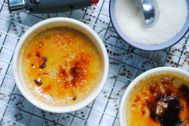 Chef Joe Murphy's Creme Brulee Recipe - Without Dairy by Jacqueline Raposo-1
