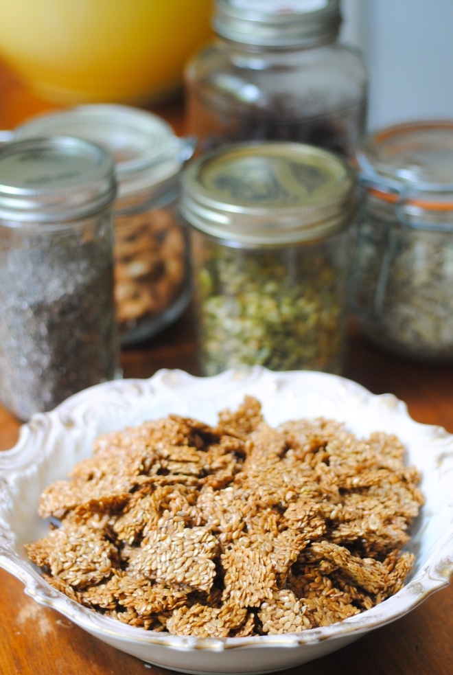 Gluten-Free Flax Granola - The Dusty Baker-2