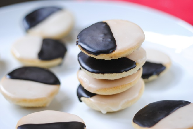 Gluten-Free Black and White Cookies - The Dusty Baker-4