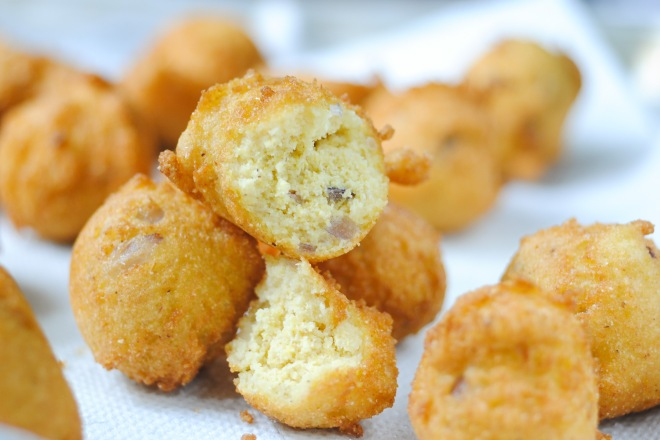 Gluten-Free Hush Puppies - TheDustyBaker